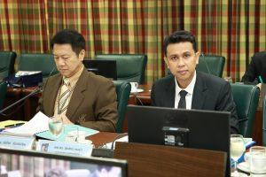 ประธานสภาคณาจารย์และพนักงาน เข้าร่วมประชุมสภามหาวิทยาลัยสวนดุสิต ครั้งที่ 10(30)/2561