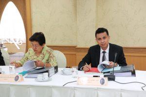 ประธานสภาคณาจารย์และพนักงานมหาวิทยาลัยสวนดุสิต เข้าร่วมประชุมคณะกรรมการนโยบายบุคลากรประจำมหาวิทยาลัย ครั้งที่ 9(22)2561