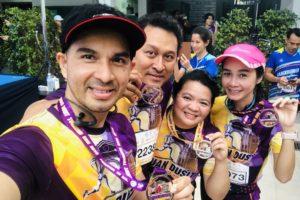 คณะกรรมการสภาคณาจารย์และพนักงาน เข้าร่วมกิจกรรม Suan Dusit Tourism Run 2018 :  วิ่งรอบรั้ว  ทัวร์รอบเมือง ชิงถ้วยประทานพระเจ้าหลานเธอ พระองค์เจ้าพัชรกิติยาพา