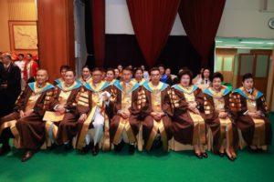 ปฏิบัติหน้าที่กรรมการสภามหาวิทยาลัยสวนดุสิต พิธีพระราชทานปริญญาบัตรประจำปีการศึกษา 255-2560 (20 มิ.ย. 62)