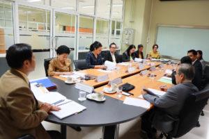 ประชุมคณะกรรมการพิจารณาทุนเพื่อการศึกษา ครั้งที่ 1(1)/2562 (12 ก.ค. 62)