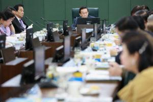 จัดประชุมสภามหาวิทยาลัย ครั้งที่ 11(45)/2562 (22 พ.ย. 2562)