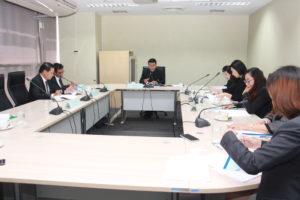 ประชุมคณะกรรมการกองทุนสะสมเลี้ยงชีพ มสด. ครั้งที่ 11(23)/2562 (25 พ.ย. 2562)