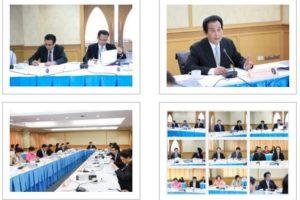 ประชุมคณะกรรมการนโยบายบุคลากรประจำมหาวิทยาลัย ครั้งที่ 12(36)/2562 (17 ธ.ค. 2562)