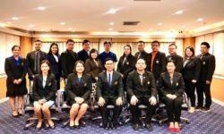 ประธานสภาคณาจารย์และพนักงาน มสด. ให้การต้อนรับคณะศึกษาดูงานจาก คณะกรรมการสภาคณาจารย์และข้าราชการ มหาวิทยาลัยราชภัฏเชียงราย (30 ม.ค. 63)
