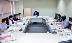 กองทุนสะสมเลี้ยงชีพ มสด. จัดประชุมคณะกรรมการกองทุนสะสมเลี้ยงชีพ ครั้งที่ 1(25)/2563 (20 ม.ค. 63)